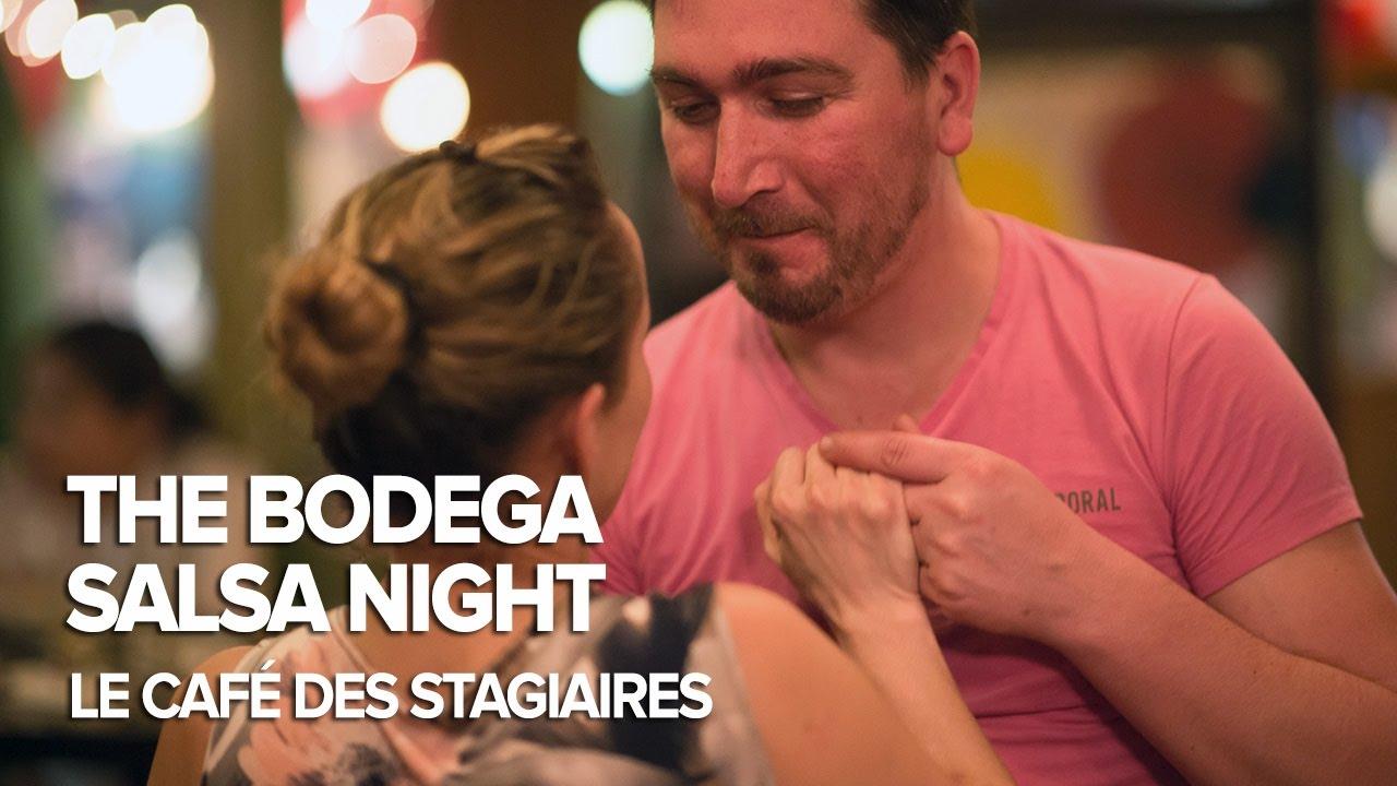 The Bodega Salsa Night at Le Café des Stagiaires Bangkok