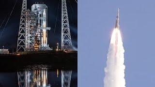 Delta IV Medium launches GPS III SV02 Magellan