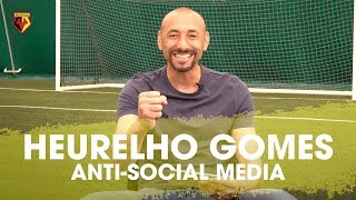 HEURELHO GOMES HILARIOUS REACTIONS TO YOUR MEAN TWEETS IN ANTI-SOCIAL MEDIA 🤣