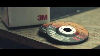 3M™ Cubitron™ II šlifavimo diskas prieš 2.4 l variklį
