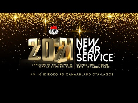 DOMI STREAM : NEW YEAR SERVICE  1, JANUARY 2021  FAITH TABERNACLE OTA