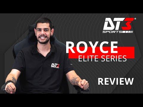 Nova Cadeira de Tecido! Royce - Elite Series