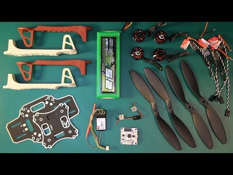 Build a Drone Part 1 - Select Components - UCG0XYKWt66rnKCImxndt5bw