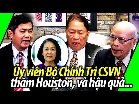 Ủy viên Bộ Chính Trị CSVN thăm Houston và xáo trộn trong CĐ người Việt chống Cộng