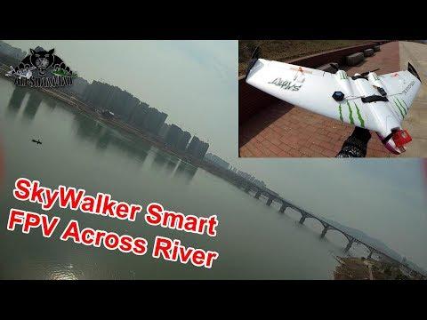 Skywalker Smart FPV Wing Maiden FPV Flight Crossing the River - UCsFctXdFnbeoKpLefdEloEQ