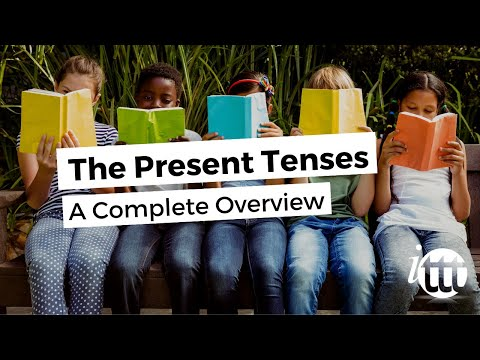 English Grammar -- Present Tenses --Overview -- Pay for English Teachers