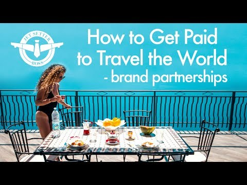 How to Get Paid to Travel the World - BRAND DEALS & PARTNERSHIPS - UCd5xLBi_QU6w7RGm5TTznyQ