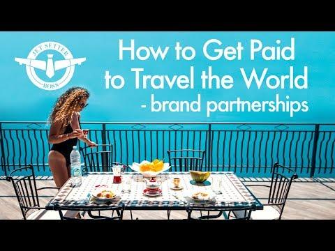 How to Get Paid to Travel the World - BRAND DEALS & PARTNERSHIPS - UCd5xLBi_QU6w7RGm5TTznyQ
