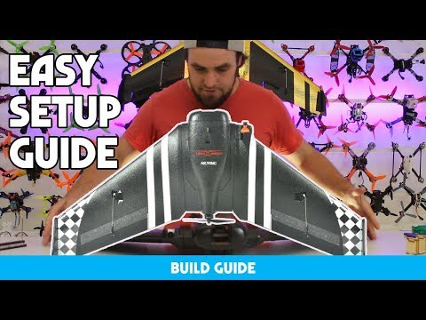 HOW TO BUILD A BEGINNERS FPV WING IN 15 MINS - EASY GUIDE - UC3ioIOr3tH6Yz8qzr418R-g