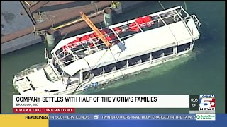 Duck boat company settles with victims families