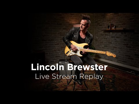 Lincoln Brewster Live Stream Replay