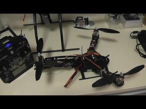 HJ-Y3 TriCopter with OpenPilot CC3D Indoor Maiden Flight - UCXdLsO-b4Xjf0f9xtD_YHzg