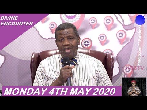 PASTOR E.A ADEBOYE SERMON - RCCG 05/04/2020 DIVINE ENCOUNTER