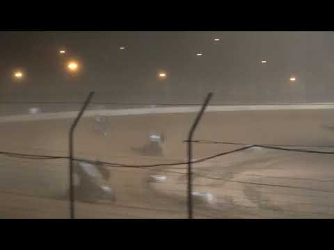 OVSCA Sprint Car A-Main from Portsmouth Raceway Park, August 28th, 2021. - dirt track racing video image