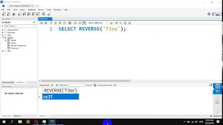 How to Reverse the Order of Characters in a String in MySQL