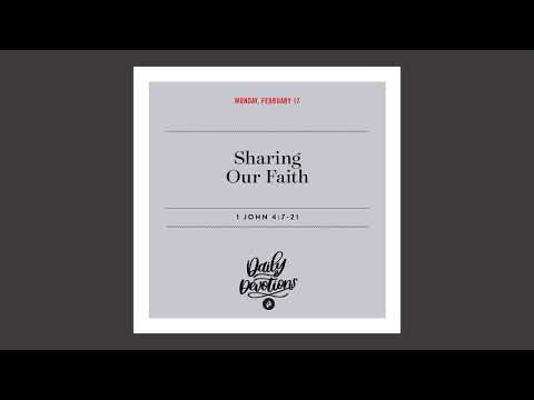 Sharing Our Faith - Daily Devotion