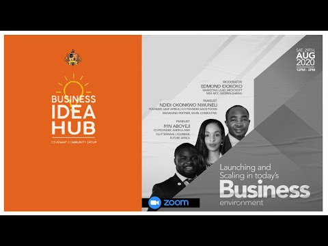 LAUNCHING AND SCALING IN TODAY'S BUSINESS ENVIRONMENT