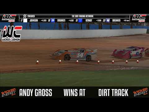 Hales Corners Speedway Sim Racing League Limited Late Model @ Charlotte - dirt track racing video image