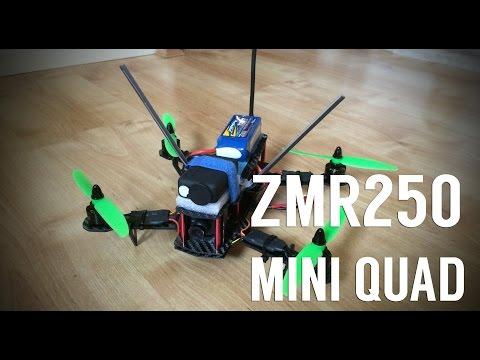 ZMR250 Mini Quad Maiden and Crash - Narrowly Avoiding Water! - UCnqFDXT7gW-Zak4c7ZYQPFQ