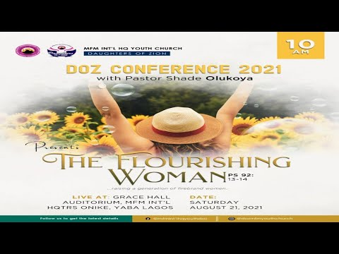 DOZ Conference 2021 with Pastor Mrs Shade Olukoya