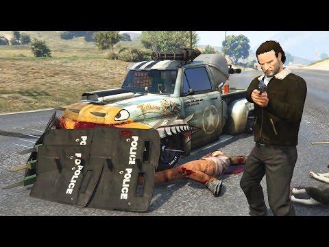 GTA 5 Mods - ZOMBIE APOCALYPSE BATTLE VEHICLES #2!! GTA 5 Zombie Mod Gameplay! (GTA 5 Mods Gameplay) - UC2wKfjlioOCLP4xQMOWNcgg