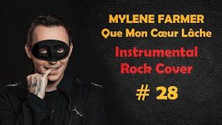 Que Mon Cœur Lâche (Rock Guitare Cover Instrumentale par Shelter Grey) #28