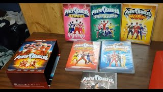 Power Rangers, we thought it only had 1 season, but we found some tapes of seasons 8 through 12