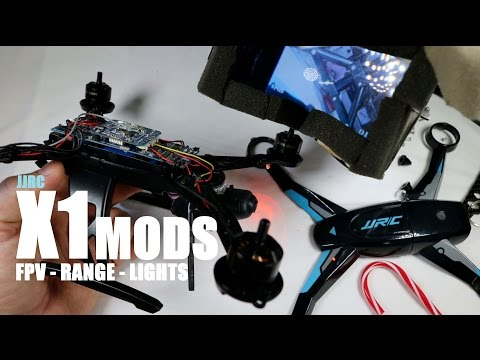 JJRC X1 Quadcopter MODS - All The Best - [FPV, LED, Range] - UCVQWy-DTLpRqnuA17WZkjRQ