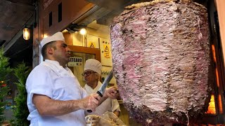World's BIGGEST Döner Kebab - Street Food Tour in ISTANBUL TURKEY, 2019