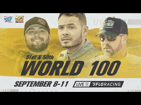 LIVE: 50th Annual World 100 Heat Races at Eldora Speedway - dirt track racing video image