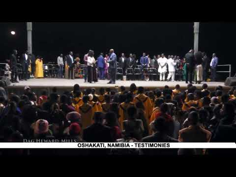 WATCH THE HEALING JESUS CAMPAIGN, LIVE FROM OSHAKATI. DAY 3.