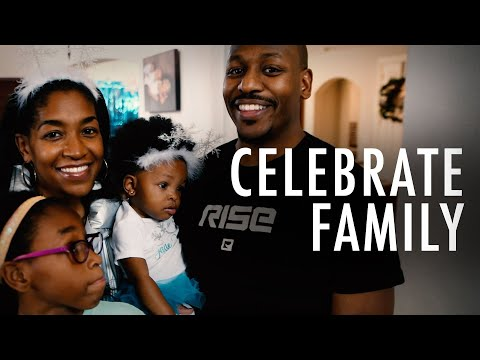 Be Intentional to Celebrate & Cherish Family