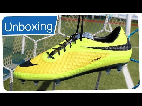 6f28e8001 Nike Hypervenom Phantom FG Gelb 2014 - NEYMAR Boots - Unboxing