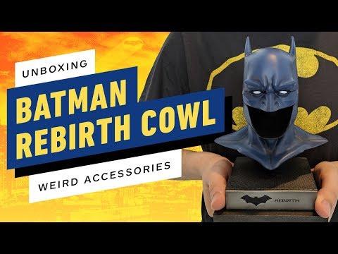 Unboxing Batman's Rebirth Cowl Reveals a Depressing Accessory - UCKy1dAqELo0zrOtPkf0eTMw