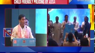Assam Police dons another hat; CM Sonowal launches 'Sishu Mitra', a child-friendly police initiative