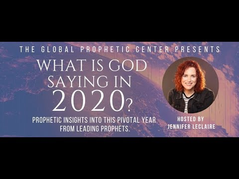 What is God Saying in 2020?