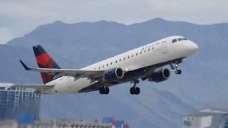 Flight Take off at Las Vegas McCarran International Airport