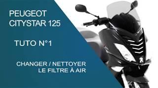 Cambio filtro aria SATELIS 125