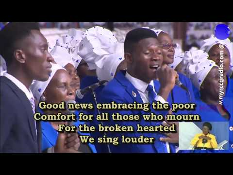 MASS CHOIR MINISTRATION  RCCG MARCH 2020 HOLY COMMUNION SERVICE