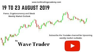 Cryptocurrency, Forex and Stock Webinar and Weekly Market Outlook from 19 to 23 August 2019