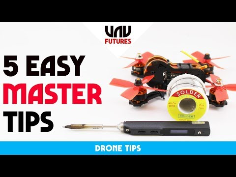 LEARN HOW TO SOLDER IN 10 MINUTES! EASY BEGINNERS GUIDE for drones - UC3ioIOr3tH6Yz8qzr418R-g