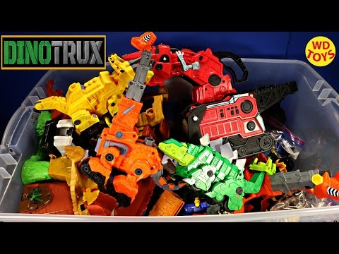 New Giant Box Dinotrux Surprise Toys Dreamworks Dinosaur Trucks Unboxing Top 10 - UC5l6twzfConuZFkGA_GYrtw