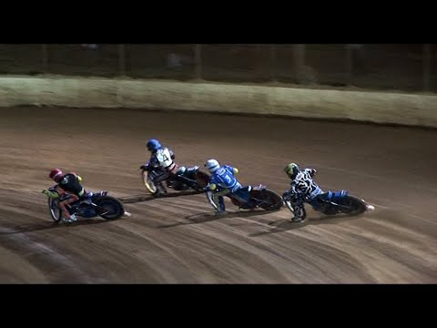 The Bikes are Back: Maryborough Speedway   23rd January 2010 - dirt track racing video image