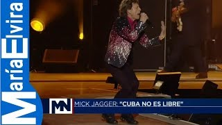 Rolling Stones en Cuba MIck Jagger