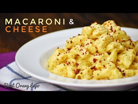 Macaroni & Cheese | Keju & Makaroni - UCdwV3w30mxpgm-M39JBxslA