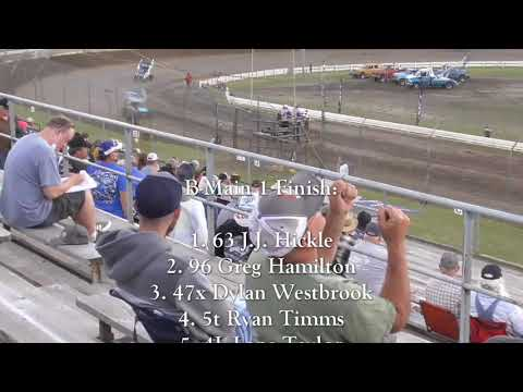 Skagit Speedway Dirt Cup Night #1 ASCS National Tour June 24th, 2021 - dirt track racing video image