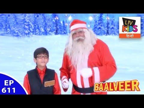 Baal Veer - बालवीर - Episode 611 - Manav Hangsout With Santa