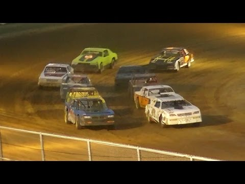 Pure Stock Feature | McKean County Raceway | 7-28-16 - dirt track racing video image