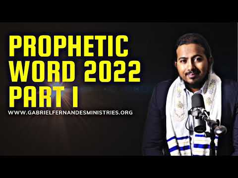 GOD WANTS TO GIVE YOU GREATER GLORIES & GREATER HEIGHTS   PROPHETIC WORD 2022 PART 1 - EV. FERNANDES