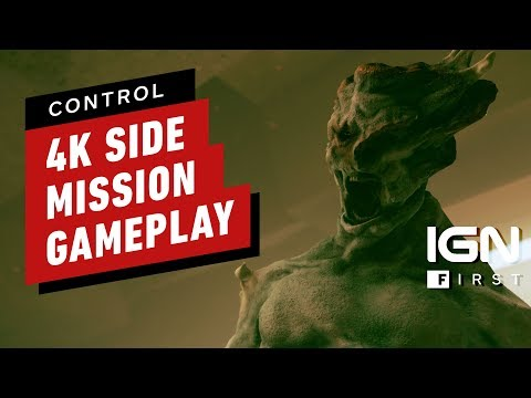 Control: Full Side Mission Gameplay (4K) - IGN First - UCKy1dAqELo0zrOtPkf0eTMw